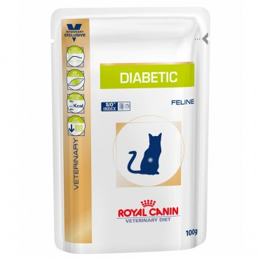Royal Canin Diabetic Cat plicuri 12 X 100g plic
