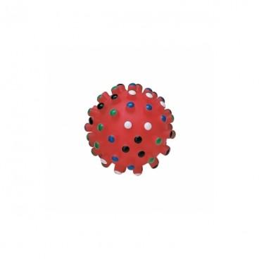 Jucarie Dog Toys Minge Puncte Mari 8,5 cm