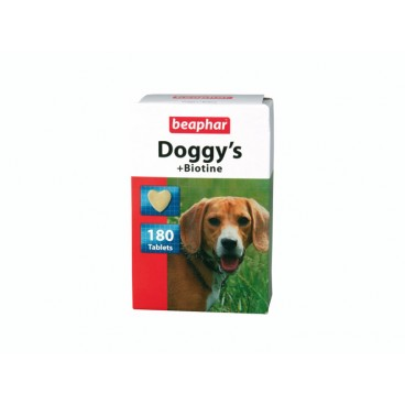 Doggy's + biotină 180 tablete- PetMart Pet Shop Online