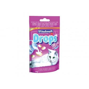 Vitakraft Drops pisica cu lapte si iaurt 75g