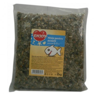 Enjoy Nisip acvariu  3 - 7 mm 2kg