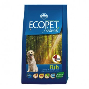 Ecopet Natural Dog Adult Maxi Fish 12 Kg
