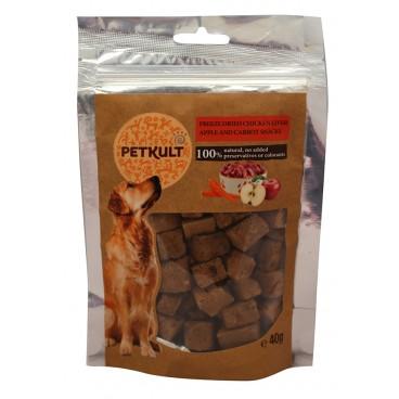 Petkult Dog Snack Ficat Pui/Mar/Morcov 40 gr