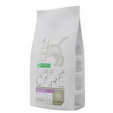 NATURES PROTECTION SUPERIOR CARE NO GRAIN  1.5 KG