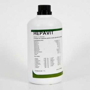 Hepavit 1 l 61 48 ron petmart petshop for Clou arredi farmacie