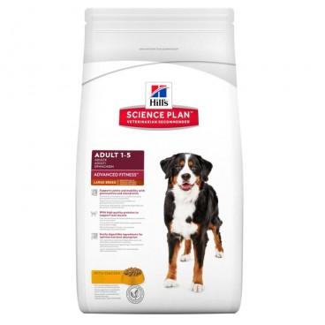 Hill's SP Adult Advanced Fitness Large Breed hrana cu pentru caini cu pui 12 kg