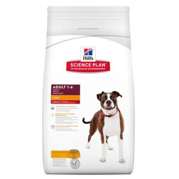 Hill's SP Adult Light hrana pentru caini cu pui 3 kg
