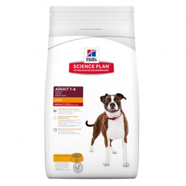 Hill's SP Adult Light hrana pentru caini cu pui 12 kg