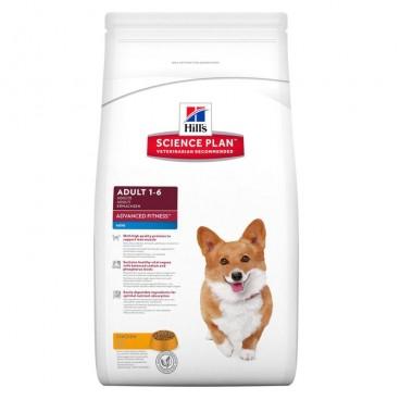 Hill's SP Adult Advanced Fitness Mini hrana pentru caini cu pui 7 kg