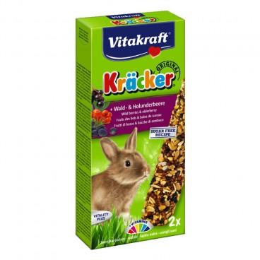 Baton Iepuri Vitakraft Fructe de Padure si Soc 2 Buc