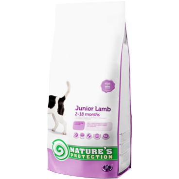 NATURES PROTECTION DOG JUNIOR WITH LAMB  2 KG