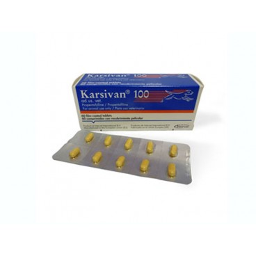 Karsivan 100 mg 60 tablete - imbunatatirea circulatiei la nivel cerebral