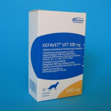 KEFAVET VET 500 mg x 30 cp