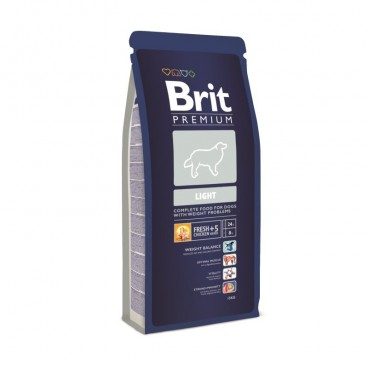 Hrana Brit Premium Adult Light 15 Kg