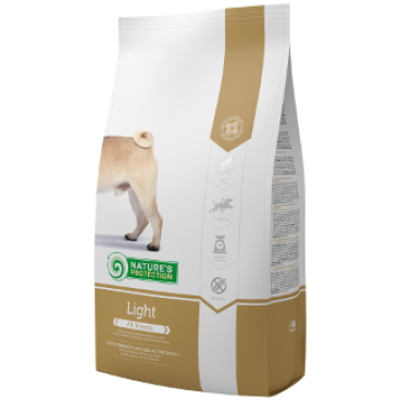 NATURES PROTECTION DOG LIGHT  4 KG