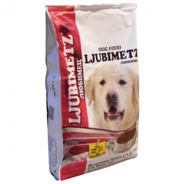 Ljubimetz Dog Adult Miel & Orez 10 Kg