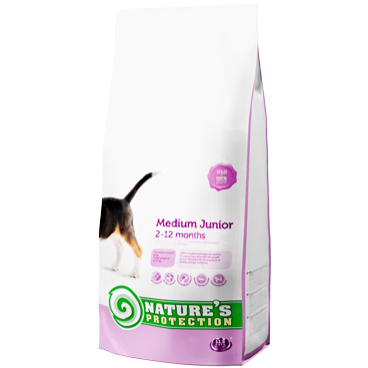 NATURES PROTECTION MEDIUM JUNIOR  2 KG (DOG)