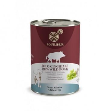 EQUILIBRIA Dog - 100% carne de MISTRET- 410 g -conserva