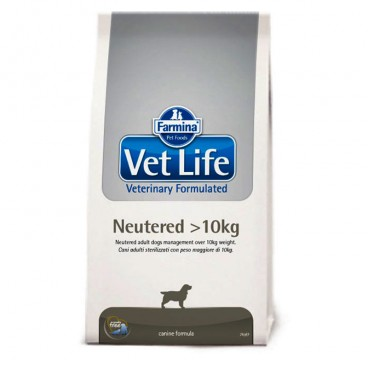 Vet Life Dog Neutered over 10kg Sac 10 kg