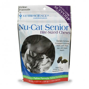 Nu-Cat Senior Bite-sized Chew 30 tablete