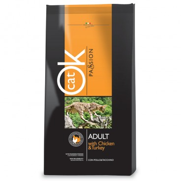 OK Cat Passion Adult Chicken 12,5 kg