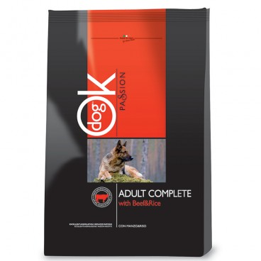 Ok Dog Passion Adult Complete Beef 12.5 Kg