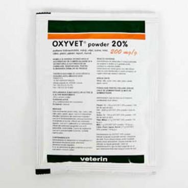 Oxyvet 20% Pulbere Solubila x 50 g