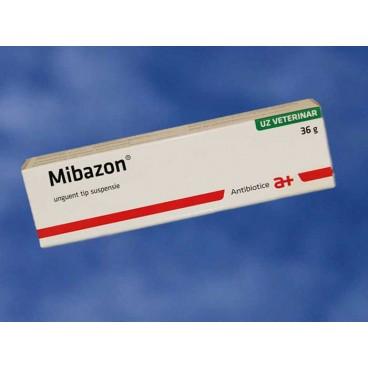 Mibazon 36 g - unguent cu antibiotic pentru caini si pisici