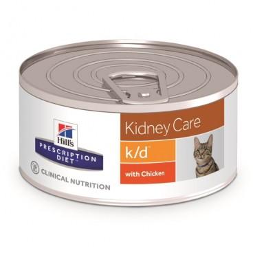 Hill's PD k/d Kidney Care hrana pentru pisici 156 g