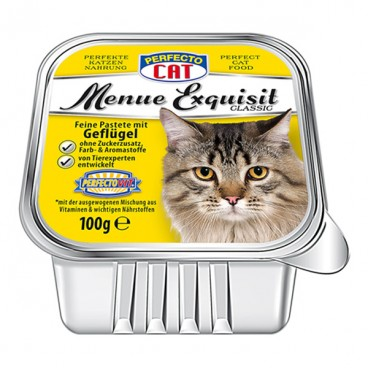 Perfecto Cat Adult Vită si Curcan 400 g