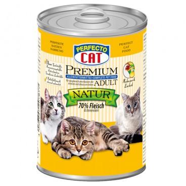 Perfecto Cat Premium Adult Pui si Ulei de Somon 400 g