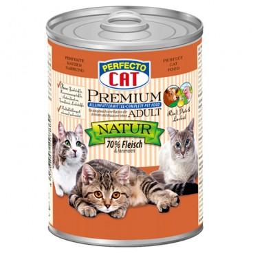 Perfecto Cat Premium Adult Vita, Curcan si Ulei de Somon 400 g