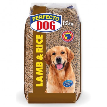 Perfecto Dog Lamb & Rice 15 kg