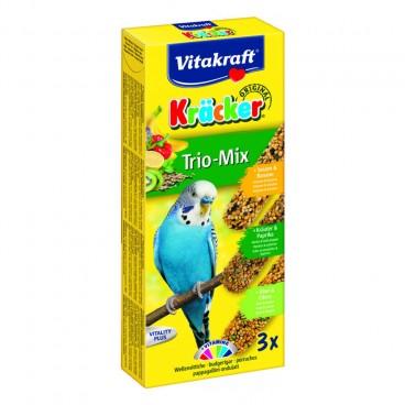 Baton Perusi Vitakraft Trio Mix Kiwi/Ardei/Banane 3 Buc