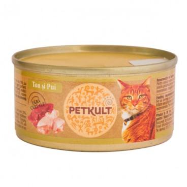 Petkult Cat Pui 80 g