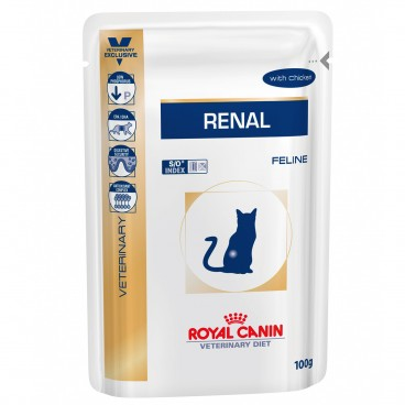 Royal Canin Renal Chicken Cat 12 plicuri x 85 g