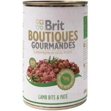 Brit Boutiques Gourmandes bucatele de Miel 400 gr pate