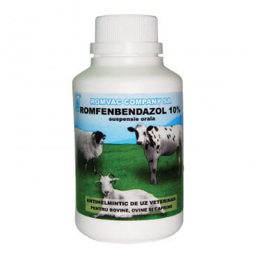 ROMFENBENDAZOL 10% Suspensie orala 100 ml