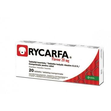 Rycarfa 20 mg 20 tablete - antiinflamator nesteroidian pentru caini