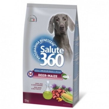 Salute Dog M/L Deer/Maize 12kg