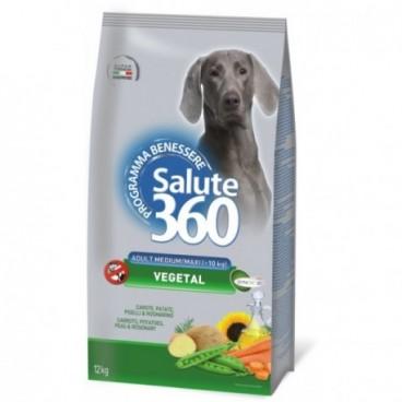 Salute Dog Adult Veget Med 12kg