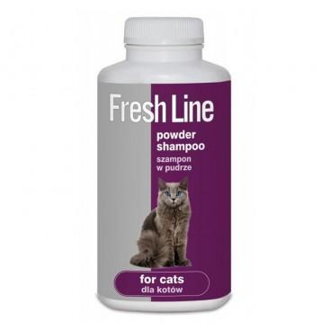 Sampon pudra FRESH LINE Pisici 250 g