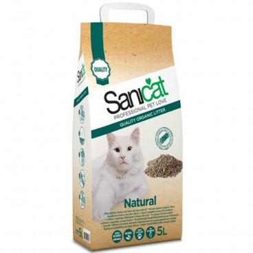 Sanicat Natural 5 Litri - nisip igienic