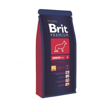 Hrana Brit Premium Senior Large 15 Kg