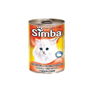 Simba Pisica Conserva Curcan 415 g