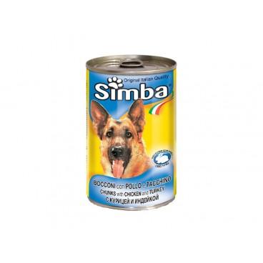 Simba Dog Pui-Curcan Conserva 415 g