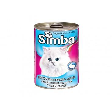 Simba Pisica Conserva Rata 415 g