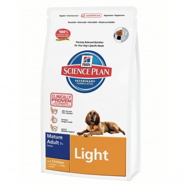 Hill's SP Canine Mature 7+ Light Chicken 12 Kg