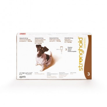 Stronghold Caine 60 mg ( 5 - 10 kg ) 3 pipete