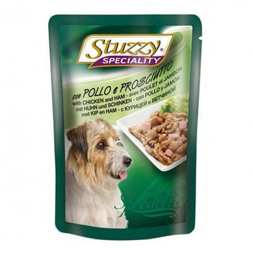 Stuzzy Speciality Dog Pui si Sunca 100 g